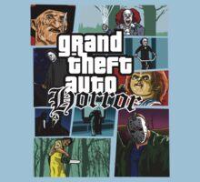 Grand Theft Horror One Piece - Short Sleeve