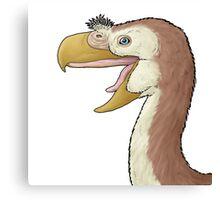 The terror bird, Paraphysornis Canvas Print