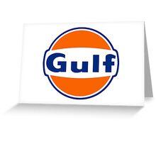 Gaz Oil king Greeting Card