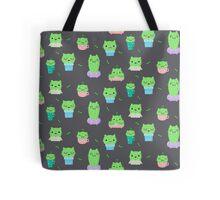 Cute Cattus Tote Bag