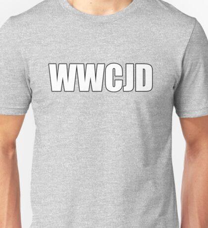 What Would CJ Do? Unisex T-Shirt