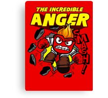 The Incredible Anger Canvas Print
