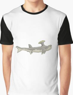 A weird shark from a weirder past, Stethacanthus Graphic T-Shirt