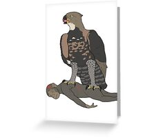 The Taung Child's End Greeting Card