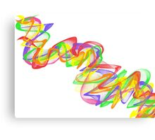 Color Ribbon #2 Canvas Print
