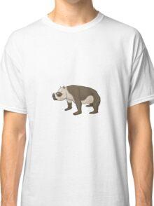 Zygomaturus, the horned 'wombat' Classic T-Shirt