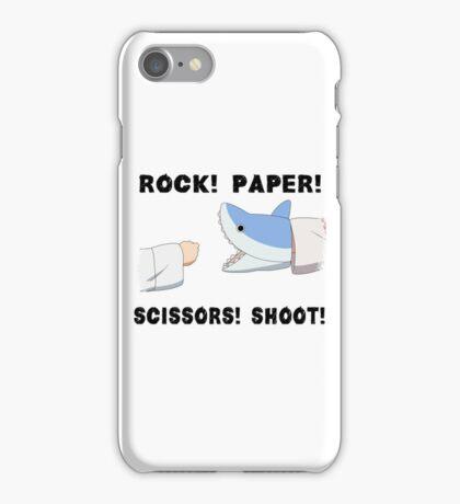 Rock! Paper! Scissors! Shoot! iPhone Case/Skin