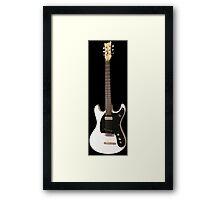 Punk Guitar Legend Framed Print