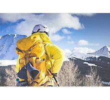 look to the ridge Photographic Print
