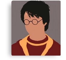 Harry Potter Minimalist  Canvas Print