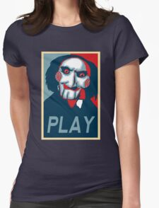 Play Womens Fitted T-Shirt