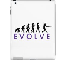 Women's Softball Evolution iPad Case/Skin