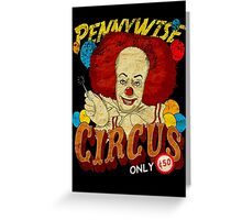 Circus Greeting Card