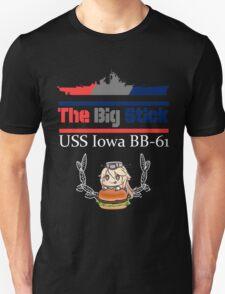 """USS Iowa """"The Big Stick"""" T-Shirt"""
