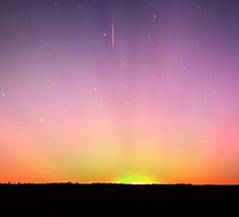 spacey sunset by mcmetz