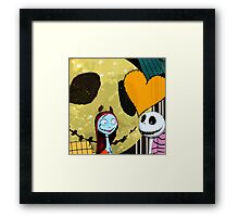 Sally and Jack Framed Print