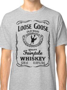 Loose Goose Whiskey Black Classic T-Shirt