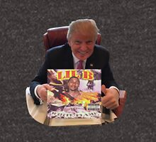 donald trump endorses lil b Zipped Hoodie