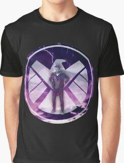 Lightning Lincoln in SHIELD Logo Graphic T-Shirt