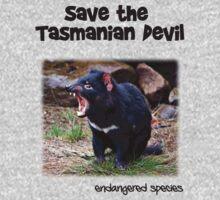 save the Tasmanian Devil One Piece - Long Sleeve