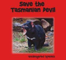 save the Tasmanian Devil One Piece - Short Sleeve