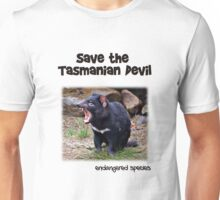 save the Tasmanian Devil Unisex T-Shirt