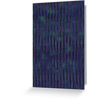 Blue Abstract Pattern Greeting Card