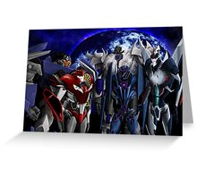 Decepticons (Transformers: Prime) Greeting Card