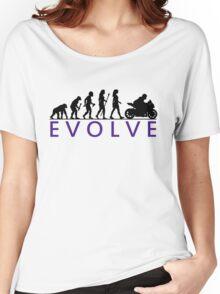 Women's Motorbike Evolution Women's Relaxed Fit T-Shirt