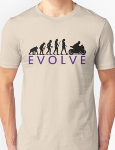 Women's Motorbike Evolution Unisex T-Shirt