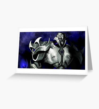 Transformers Prime: Megatron Greeting Card