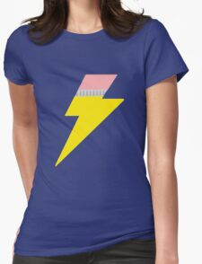 Pencil Bolt Womens Fitted T-Shirt