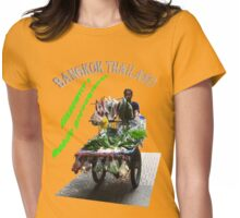 Bangkok Mobile Greengrocer Womens Fitted T-Shirt