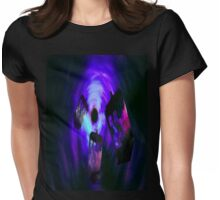 Into the Vortex  Womens Fitted T-Shirt