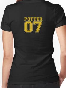 Quidditch Jersey Women's Fitted V-Neck T-Shirt
