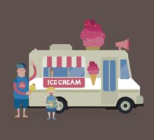 Love ice cream Baby Tee