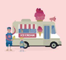 Love ice cream One Piece - Long Sleeve