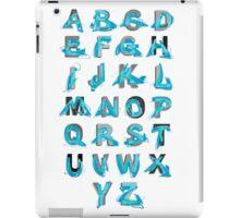 Abstract graffiti Alphabet ABC iPad Case/Skin