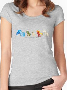 The Last Bender Pony Women's Fitted Scoop T-Shirt