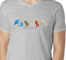 The Last Bender Pony Mens V-Neck T-Shirt