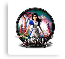 alice madness return blood body Canvas Print
