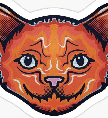 Wise Cat Sticker
