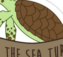 Save the Sea Turtles Sticker