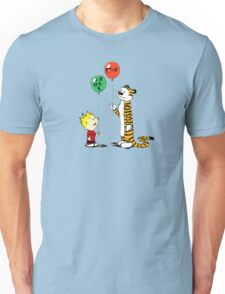 calvin and hobbes ballon Unisex T-Shirt