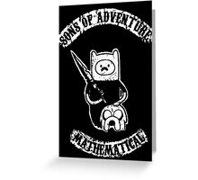 Sons of Adventure Time Anarchy Mathematical Jake Finn Greeting Card
