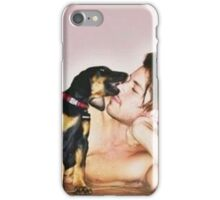 Grant and his dog iPhone Case/Skin