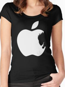 Death Note Apple Women's Fitted Scoop T-Shirt