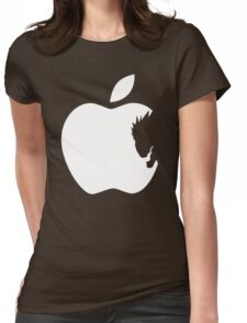 Death Note Apple Womens Fitted T-Shirt