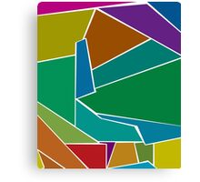 Soul, Multi Colored Memory and Impressions Canvas Print