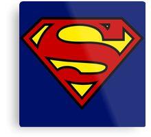 Washington Redskins Superman Metal Print